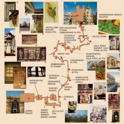Heritage_Walk_Ahmedabad_map