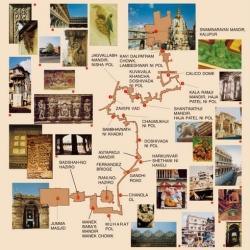 Heritage_Walk_Ahmedabad_map